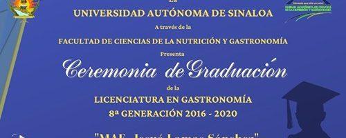 Ceremonia de Graduación Licenciatura en Gastronomía
