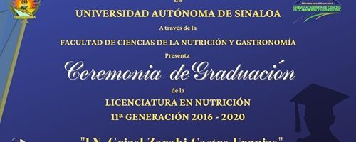 Ceremonia de Graduación Licenciatura en Nutrición